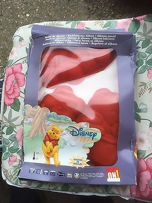 Retro Walt Disney Winnie the Pooh Silicone Jelly Moulds x 3 NEW in Pack