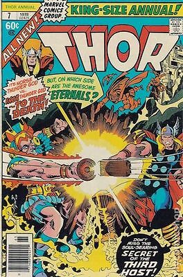 Thor (1962-1996 1st Series) Annual #7 VG+ 4.5 LOW GRADE