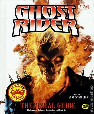 Ghost Rider The Visual Guide HC (2007 Best Buy Edition) #1-1ST NM