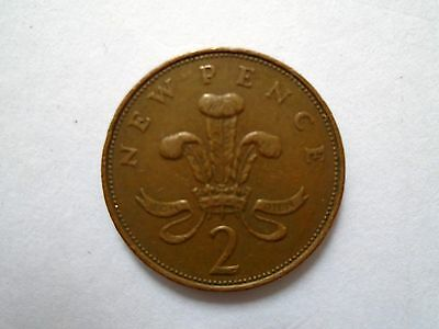 2p New Pence coin 1971 - (Two Pence Pre 1983)