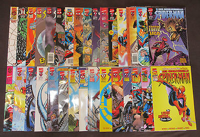 DER SENSATIONELLE SPIDER-MAN (deutsch) # 0,1-30 KOMPLETT - PANINI 1998-2000 -TOP