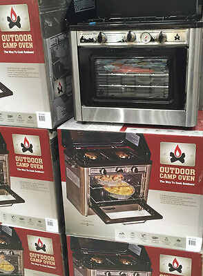 Camp Chef Portable Camping Oven Stainless Steel - Brand New In Box