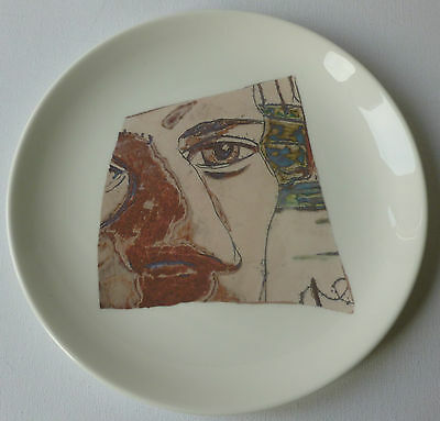 Grayson Perry artist designed art pottery plate