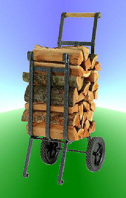 HEAVY DUTY Log  & Wood Rack CARRIER - NEW in box - Vogelzang Cart - Firepit use