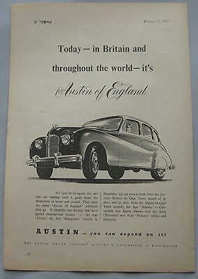 1950 Austin Original advert No.2