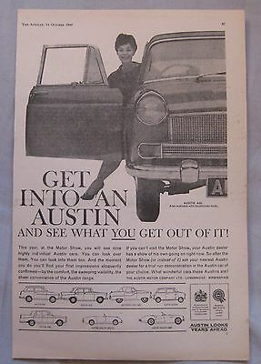 1960 Austin Original advert No.1