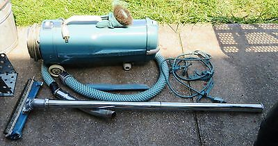 Vintage Electrolux Canister Vacuum Cleaner Model L Works   Hose + attachments