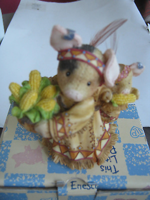 1996 This Little Piggy We're Gonna Eat Like Pigd Figurine With Box