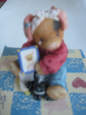 1996 This Little Piggy-I Miss You Figurine With Box