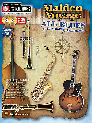Maiden Voyage All Blues Jazz Play-Along Vol A1 Bb Eb C Sheet Music Book CD NEW