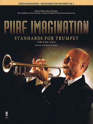 Pure Imagination Standards for Trumpet Vol 2 Sheet Music Minus One Book CD NEW