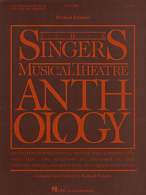 Singer's Musical Theatre Anthology Vol 1 Tenor Vocal Piano Songs Music Book NEW