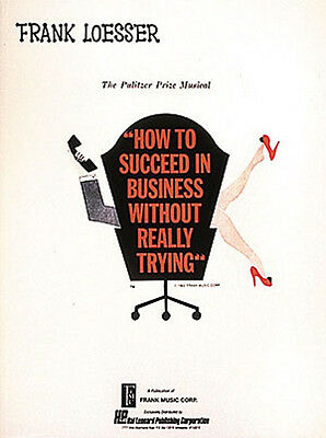 How to Succeed in Business Broadway Musical Vocal Score Piano Sheet Music NEW