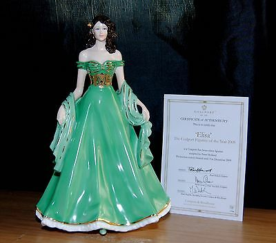 Coalport Elisa Figurine Of The Year 2009
