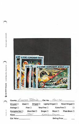 Lot of 39 Comoros MNH Mint Never Hinged & MH Mint Hinged Stamps #98728 X R