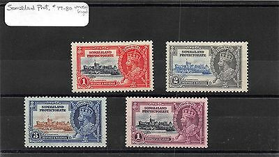 Lot of 12 Somaliland Mint Hinged Stamps Scott # 77 - 80 128 - 135 #97212 X