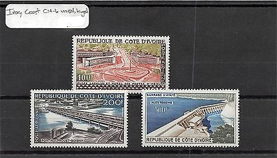 Lot of 2 Sets Ivory Coast MH Mint Hinged Air Mail Stamps #96368 X