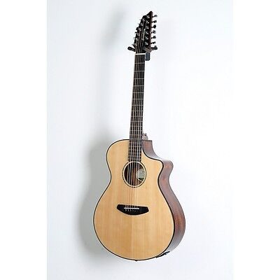 Breedlove Pursuit 12-String Acoustic-Electric Guitar Natural 888365992884