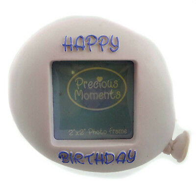 Precious Moments BIRTHDAY BALLOON Resin Photo Frame 634032 PINK