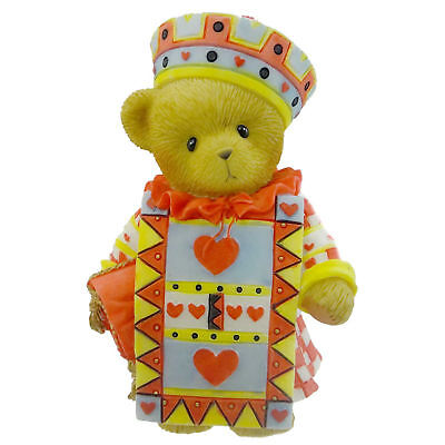 Cherished Teddies CALLAM Resin Hearts Teddy Bear Wonerland 4012274