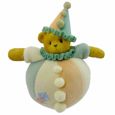 Cherished Teddies SPARKY Resin Teddy Bear Clown 789879