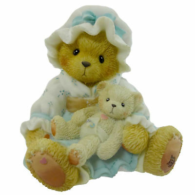 Cherished Teddies BYE BYE BUNTING Resin Teddy Bear Nursery Rhyme 979775