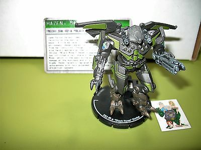 "=Mechwarrior JADE FALCON ""Black Rose"" Shrike 075 SHK-V2-A with card 40 ="