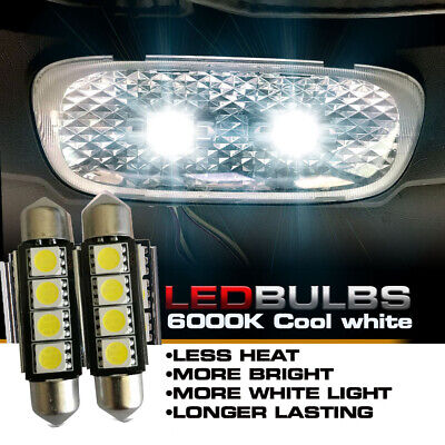 Cool White LED Bulbs for Kenworth T660 T600 T2000 Interior Dome Lights 2pcs