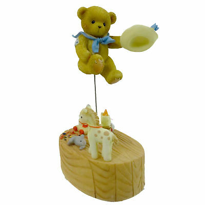 Cherished Teddies FINLAY Resin Jack Be Nimble Candle 4012279