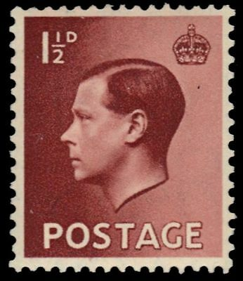 GREAT BRITAIN 231 (SG458) - King Edward VIII (pf62383)