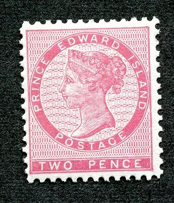 Prince Edward Island #5 2 Pence Rose Queen Victoria MNH