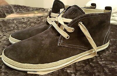 PRADA Men's Suede Leather Shoes Size UK 6.5/6