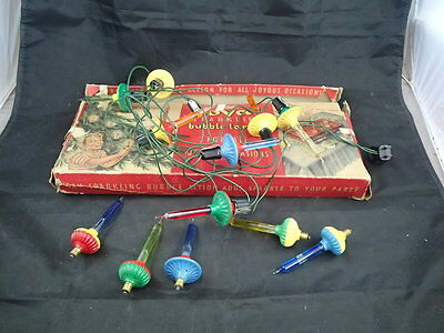 Vintage Royal Sparkling Bubble Lamps Christmas Lamps 12 Lights
