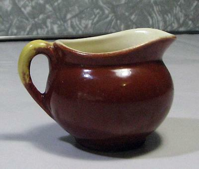 Vintage Miniature Porcelain Brown JUG - Hand Painted Australian
