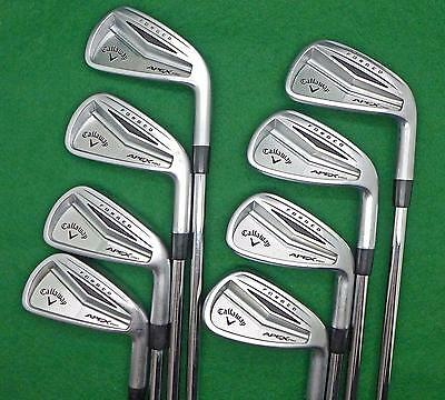 Set CALLAWAY Apex Pro Forged irons 3-PW KBS120 Stiff LGS3033 FREE SHIPPING