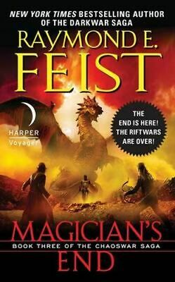 NEW Magician's End By Raymond E Feist Paperback Free Shipping