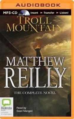 NEW Troll Mountain By Matthew Reilly CD in MP3 Format Free Shipping