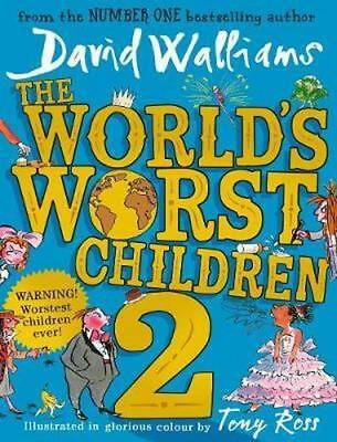 NEW The World's Worst Children 2 By David Walliams Hardcover Free Shipping