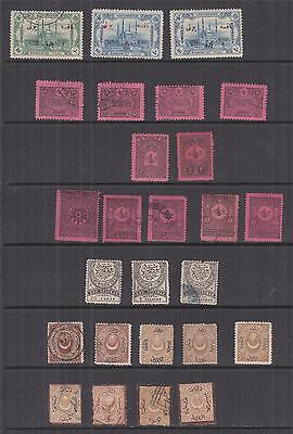 TURKEY, Postage Due, selection 1865-1913 inc. 1913 Adrianople 20pa. on 40p. (26)