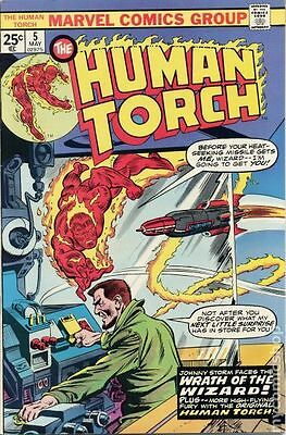 Human Torch (1974 1st Series) #5 VG LOW GRADE