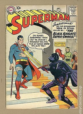 Superman (1939 1st Series) #124 GD 2.0