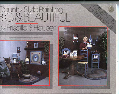 Painting Book- Country Style Painting - Big & Beautiful