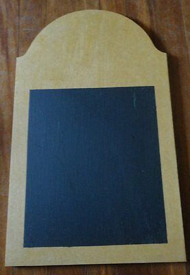 WOODEN SHAPES  - BLACKBOARD or NOTICE BOARD