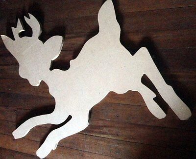 Wooden Shapes  - Reindeer