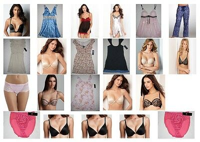 NWT 25 Women Wacoal Bra Sleepwear Gown Panties Intimates resale lot