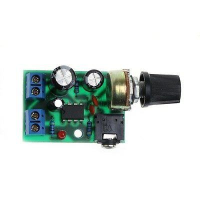 LM386 Mini Audio Power Amplifier Board DC 3V~12V 5V Module Adjustable Volume