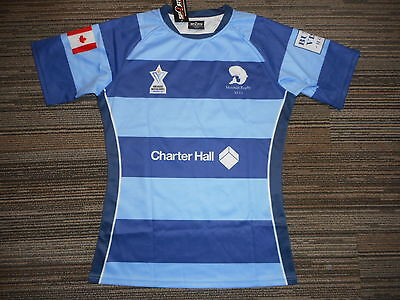 Mosman Players 2016 Slim Fit Rugby Jersey#4 Mens 3Xl