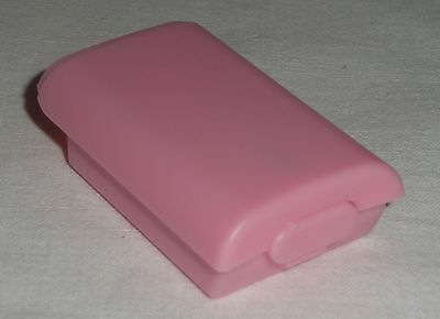PINK WIRELESS CONTROLLER AA BATTERY Case for XBOX 360  Cover holder Pack - NEW