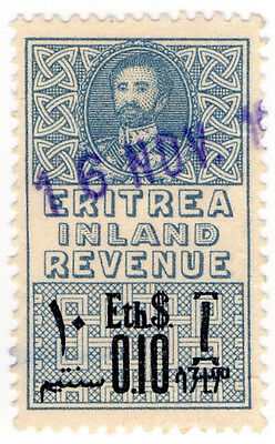 (I.B) BOIC (Eritrea) Revenue : Duty Stamp 0.10