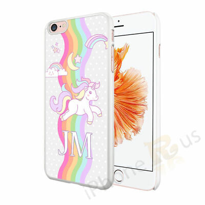 Unicorn Cute Rainbow Personalised Customised Case Cover For Mobile Phones
